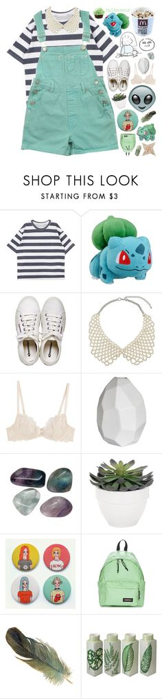 """""""001 BULBASAUR // POKEDEX"""" by rockgirlfriend15 ❤ liked on Polyvore featuring Henri Bendel, L K, CO, Strange Days, L'Agent By Agent Provocateur, CB2, Torre & Tagus, Eastpak, Studio B by Magenta and c0smicxcrybabiies"""