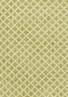 Cambridge woven fabric in apple green: Thibaut Woven Resource 2 Trellis collection