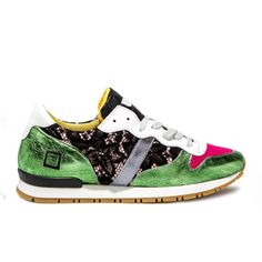 Spring Summer 2015 D.A.T.E. Sneakers Collection / Italian design/ Boston Pizzo Pink:http://bit.ly/1JLaiMN