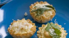 This Feb. 3, 2014 photo shows anti-gravity goat cheese phyllo bites in Concord, N.H. Each of these little guys is fairly low in calories _ n...