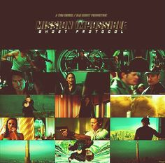 Mission Impossible: Ghost Protocol. Oh, boy. I love this movie!