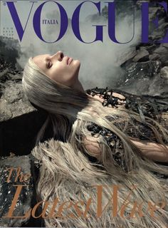 Remembering Franca Sozzani: Her Best Italian Vogue Covers Photos | W Magazine