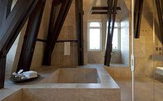 #ConservatoriumHotel #luxuryhotel #hotel #spa #bathrooms #suites #hospitality #Amsterdam #marble #stone #bathtubes #architecture #design #interiordesign #luxury
