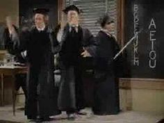 Three Stooges - Swingin' the alphabet  I sent this link to my son to show my grandkids. Love it!