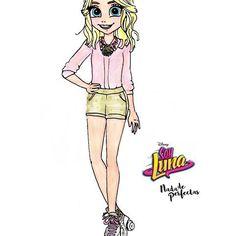 Resultado de imagen para personajes de soy luna en caricatura