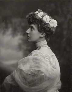 Marie Louise of Schleswig-Holstein. Daughter of Princess Helena and granddaughter of Queen Victoria