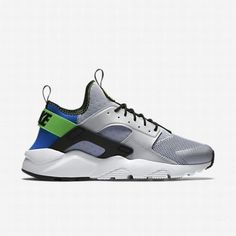 reputable site 62da6 82635 121.58 nike huarache scream green,Nike Mens Royal BlueScream GreenPure  PlatinumBlack Air Huarache Ultra Shoe