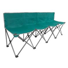Portable Folding Team Bench Chair Outdoor Sporting Events Camping Picnic Seats 4 #Unbranded