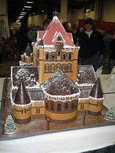 church of ginger bread