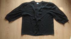 Sheer Top Elegant Black Blouse Size Small Polyester Clothes Made In England Vintage Top Secretary Smock Top Black Lace Whimsical Blouse Vintage Tops, Vintage Ladies, Black Sheer Blouse, Secretary, Black Tops, Women's Tops, Whimsical, England, Leather Jacket