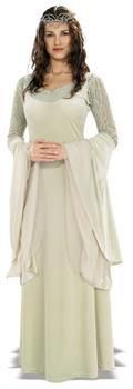Women's Lord Of The Rings Deluxe Queen Arwen Adult Costume - Standard