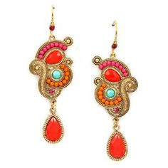 Pree Brulee - Opulent Earrings - I don't always like this style, but when I do, it burns holes in my pockets.