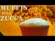 MUFFINS ALLA ZUCCA FATTI IN CASA DA BENEDETTA - Homemade Pumpkin Muffins recipe - YouTube