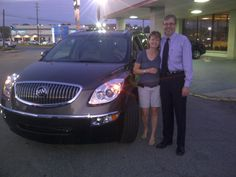 Jim and Donna Lucarini - 2012 Buick Enclave