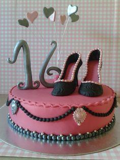 Sweet 16 fabulous cake