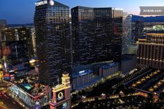 It's official! We're staying in the Terrace Suite  at the Cosmopolitan! :)