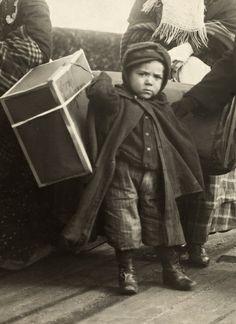 Arrival at Ellis Island. Photo via NatGeoStock