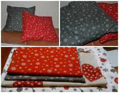 Vánoční polštáře / christmas sewing