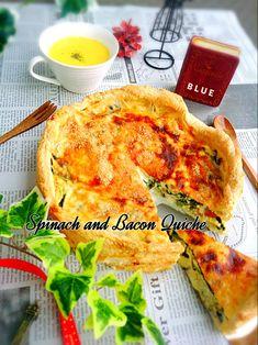 """キッシュ(Quiche)とは、フランス北東部にあるロレーヌ地方の伝統的な家庭料理。 パイ生地に卵と生クリームの生地を流し、好みの具材を入れて焼いた""""総菜タルト""""のこと。 中の具材によって様々なバリエーションが楽しめます。  フランス料理と聞くと難しそうに思いますが、とても簡単に作れて見た目もお洒落な一品♡ のんびり食べたい休日の朝食や、料理上手に見えるのでおもてなしにもおすすめ( *´艸`)  定番のキッシュから、生クリームを使わないヘルシーなもの、型無しで出来るお手軽レシピまでご紹介します!"""