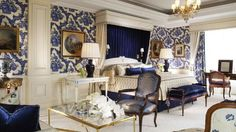 Presidential Suite, Four Seasons Hotel George V, Paris