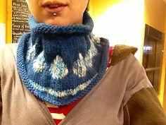 Knitting Patterns Galore - Bejeweled Cowl