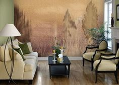 Pattern: Vignette_8930 :: Book: Tella Peel and Stick Murals Volume 1 by 4Walls :: Wallpaper Wholesaler