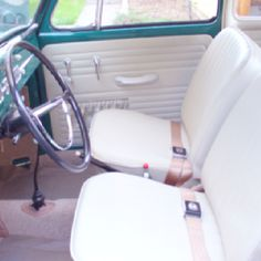 Interior of a 66' VW Bug
