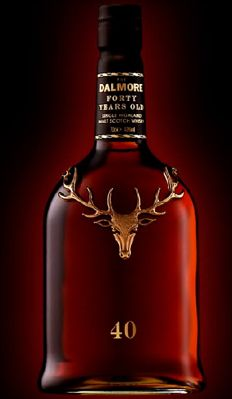 Dalmore 40. Love the bottle!
