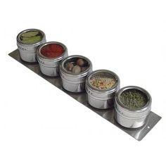 Spice things up at the party and give your host or hostess the Stainless Steel Spice Rack - Speed Rack. The magnetic rack holds five spices in airtight stainless steel pots. AU$69.95 from Australian Gifts Online.