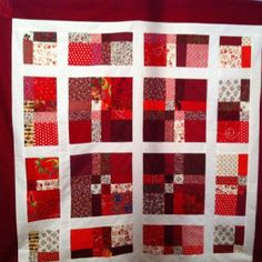 Random Reds by iQuilt Canada