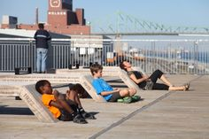Chemin-Qui-Marche Lookout, Montreal, Canada / Groupe IBI-CHBA / Photo: Alexandre Guilbeault ©