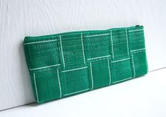 Green Web Clutch by Rosewebs on Etsy, $20.00