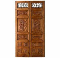 Portera Antique Spanish Doors - LOVE!  sc 1 st  Pinterest & Portera Antique Spanish Doors - beautiful design.   Future Home ...
