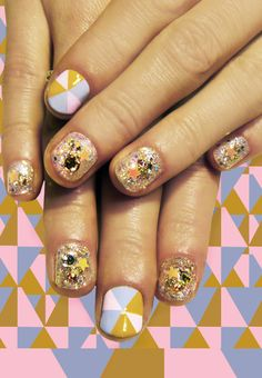 Crazy nails by Madeline Poole