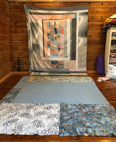 Sea Quilt, The Fourth Quilt For Ellen