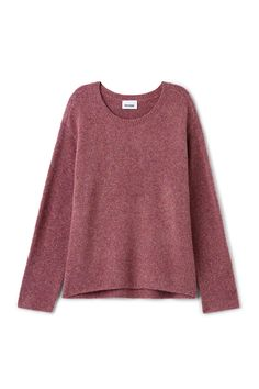 Weekday image 10 of Wish Sweater in Purple Reddish Dark