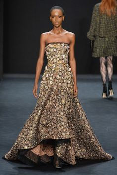 Badgley Mischka - Fall 2015 Ready-to-Wear - Look 8 of 37