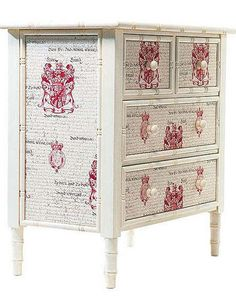 1000+ images about muebles con decoupage on Pinterest ...
