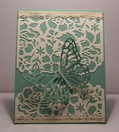 IC572 Lace and Pearls by snowmanqueen - Cards and Paper Crafts at Splitcoaststampers
