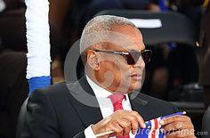 CAPE VERDE, PRAIA - JUL 05: Prime Minister of Cape Verde Jose Maria Neves. The 40th anniversary of Independence of Cape Verde, 5 July 2015 in Cape Verde, Praia.