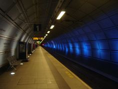 The London Underground, station at London's Heathrow Airport, United Kingdom Heathrow Airport, London Underground, Beautiful Landscapes, United Kingdom, In This Moment, Spaces, Architecture, City, Arquitetura