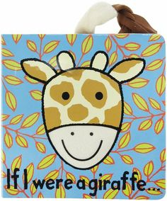 Jellycat If I were a Giraffe Book - Free Shipping