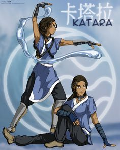 Katara : one of the greatest waterbenders