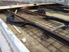 Rubberizing the rails. 10.25.2011