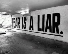 fear is a liar//