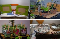 Recyklujte podľa Love Your Planet Our Planet, Earth Day, Planets, Recycling, Love You, Table Decorations, Diy, Te Amo, Je T'aime