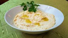 Τέλεια Νηστίσιμη συνταγή για χούμους Salad Bar, Greek Recipes, Easy Cooking, Hummus, Mashed Potatoes, Dairy Free, Eggs, Breakfast, Ethnic Recipes