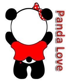 AOII Panda Magnet via Etsy