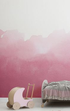 Create A Cute Toddler Bedroom For S With These Adorable And Brightly Coloured Wallpaper Murals