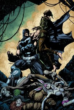 FOREVER EVIL: ARKHAM WAR #6 Written by PETER J. TOMASI Art by SCOT EATON and JAIME MENDOZA Cover by JASON FABOK On sale MARCH 5 • 32 pg, FC, 6 of 6, $2.99 US • RATED T The final battle for Gotham City starts now! The Scarecrow has unleashed a mutated army of Arkham's worst killers, and only Bane can stop them! It all leads into FOREVER EVIL #7!